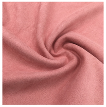 100% <strong>polyester</strong> 4 way stretch fake fur suede fabric for garment