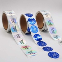 Customized printed gold foil hot stamping label stickers, cosmetics packaging labels, wine labels