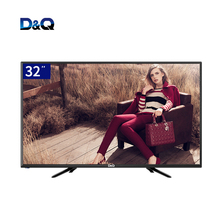 Factory wholesale black television 32 inch led TV, not tempered glass 4k televisor, smart tv 32