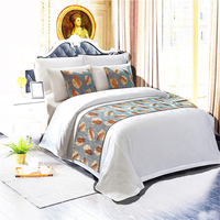 Customized hotel bed sheet bedding set duvet cover