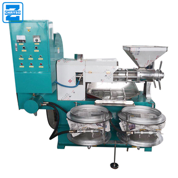 crude soybean oil production  line |  high efficiency coconut oil extractor