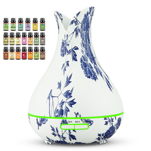 Porcelain Air Oil Essential Diffuser With Portable Aroma Diffuser <strong>Water</strong> Capacity 400ml