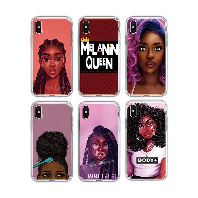 Black Girl Phone Case For Samsung S20 Plus S10 Plus S20 Models