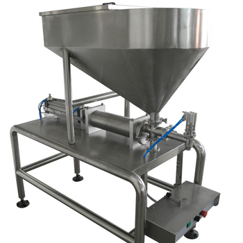 Semi-automatic sauce filling machine (single-head)