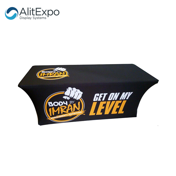 advertisement table cloth trade show table cloth cover