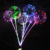 3D Cartoon Animals pattern for LED Balloon light with heart letter sticker birthday decoration globo al por mayor