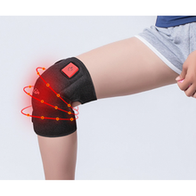 Heated Knee Brace Wrap Support/Therapeutic Electric Heating knee Pad