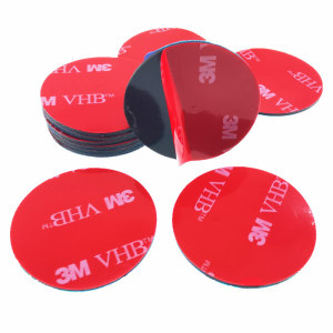 3M VHB Custom Acrylic Sided Adhesive Die Cut Sheet Strong Waterproof Double Side Foam Tape