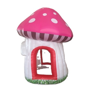 alice in wonderland decoration inflatable mushroom tent for kids