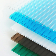 Polycarbonate Hollow / Plastic Sheet Board Construction Materials