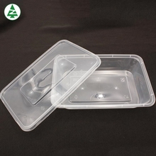 Competitive price square Injection bowl disposable food container