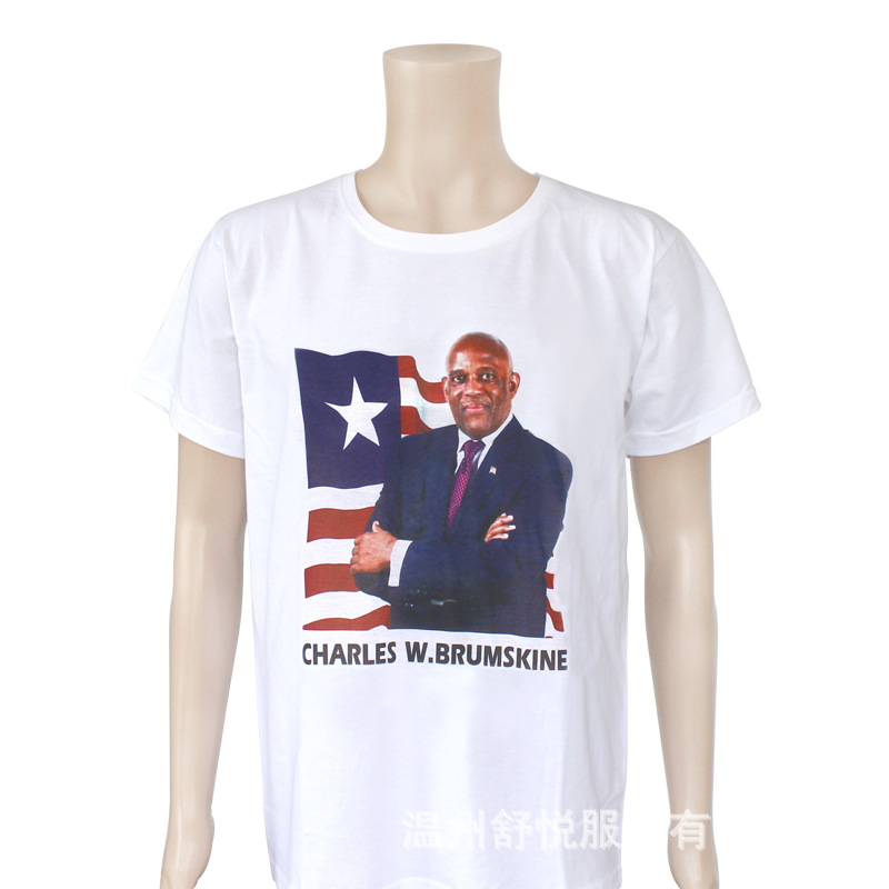 hot sell  printing election campaign t-shirts campaign t shirt wholesale