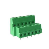two level 5.08 mm PCB terminal block M3 screw wire terminal connector