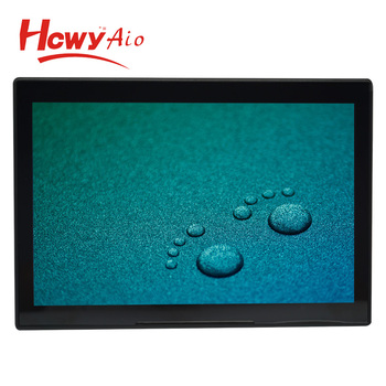 10inch L Shape Android Capacitive Touch Advertising Media Player