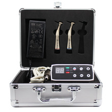 dental chair unit with 1:1 internal water spray dental set electric micro motor 1:5 increasing low speed handpiece LED