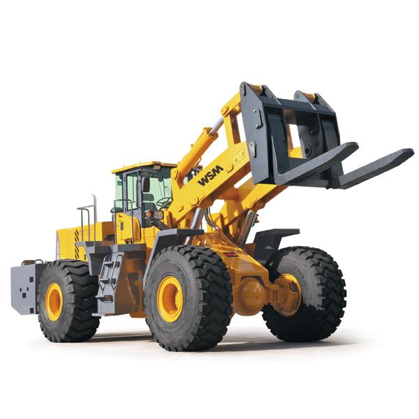 2020 Stone Handling Machine Wheel 18 Ton Forklift Loader