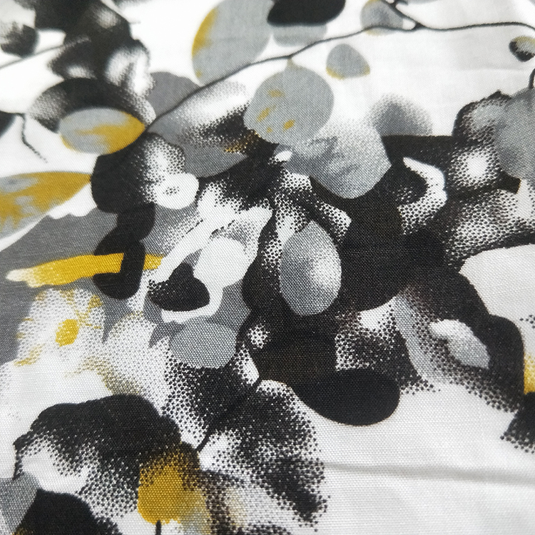 High Quality Digital print rayon viscose fabric stock in shaoxing