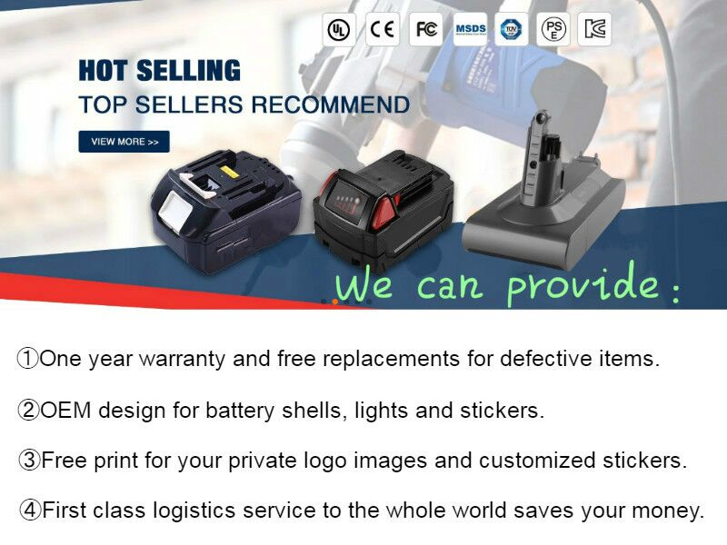For Makita BL1850 BL1850B 18V battery pack cordless drill battery replacement  rechargeable li-ion battery