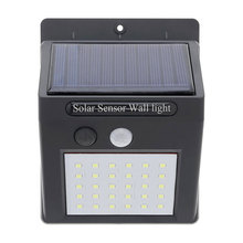 Top Seller 30 LED Lead Sun Powered Solar Led Lamps / Garden Wall Mounted Solar Light for Outdoor