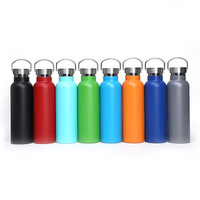17oz Eco Friendly Standard Mouth Potable Custom Logo Insulated Double Wall Stainless Steel Vacuum Water Bottle