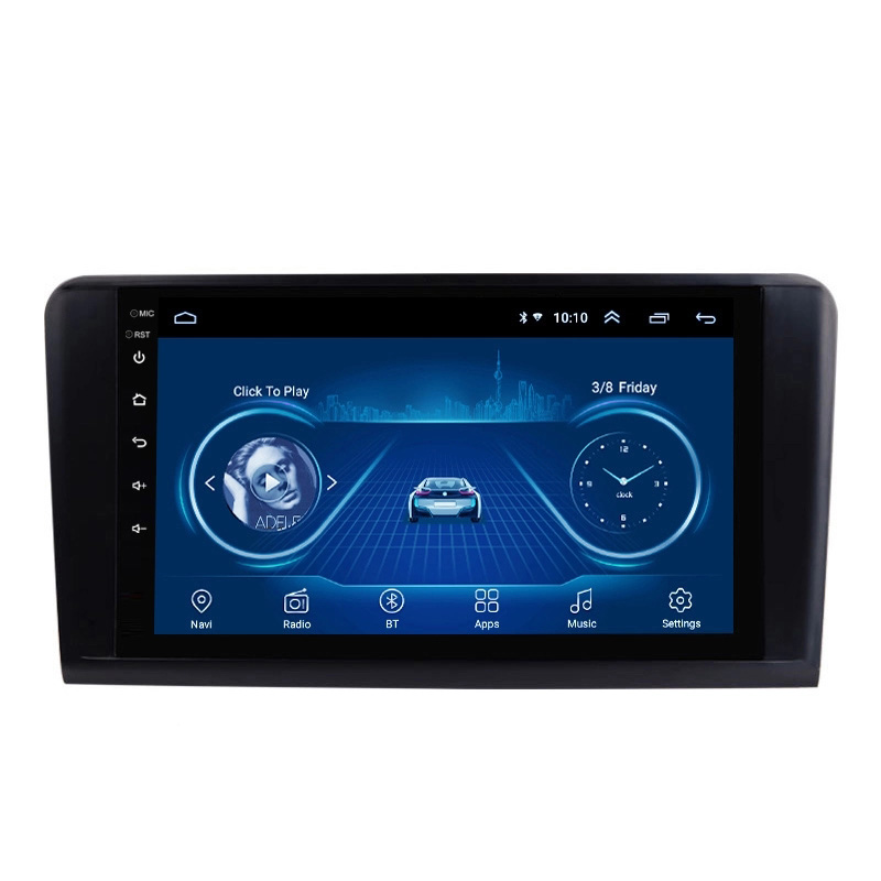 Wanqi 9 inch Android 8.1 car dvd navi multimedia player radio video audio Stereo gps navigation system <strong>FOR</strong> <strong>BENZ</strong> ML GL 2005-2012