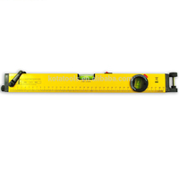 Aluminum material red spirit laser level meter