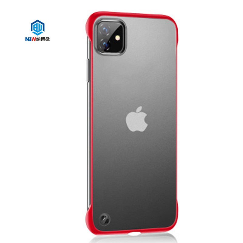 For Iphone 11 Xr Xs Max Case Hybrid Soft Tpu hard PC Ultrathin Phone Case