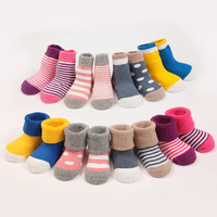 Spring and autumn winter cotton socks newborn baby socks men and women baby socks quality high factory direct sales