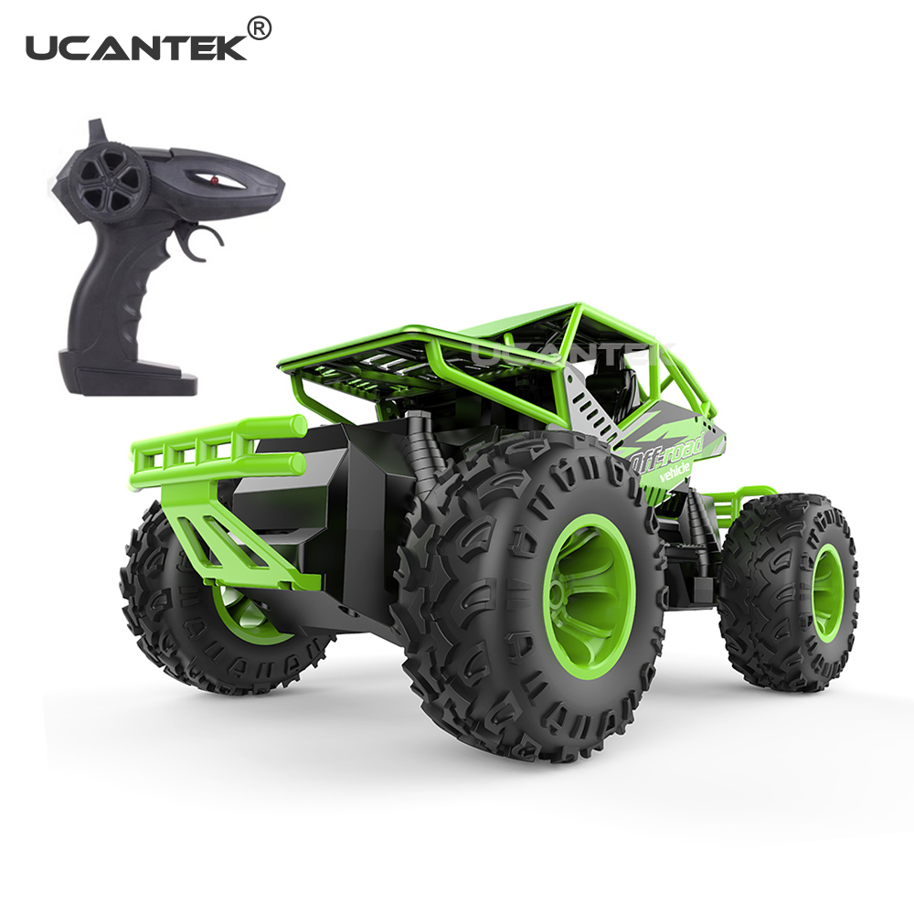 <strong>C010</strong> Four Wheels Drive 1:16 Die-Cast Remote Control Off-Road Climbing RC Truck Toy For Kids