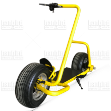 electric city scooter, single side big wheels for adult