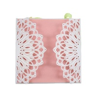 Hollow Heart Laser Cut Wedding Invitation Card Greeting Card Personalized Party Decoration Supplies