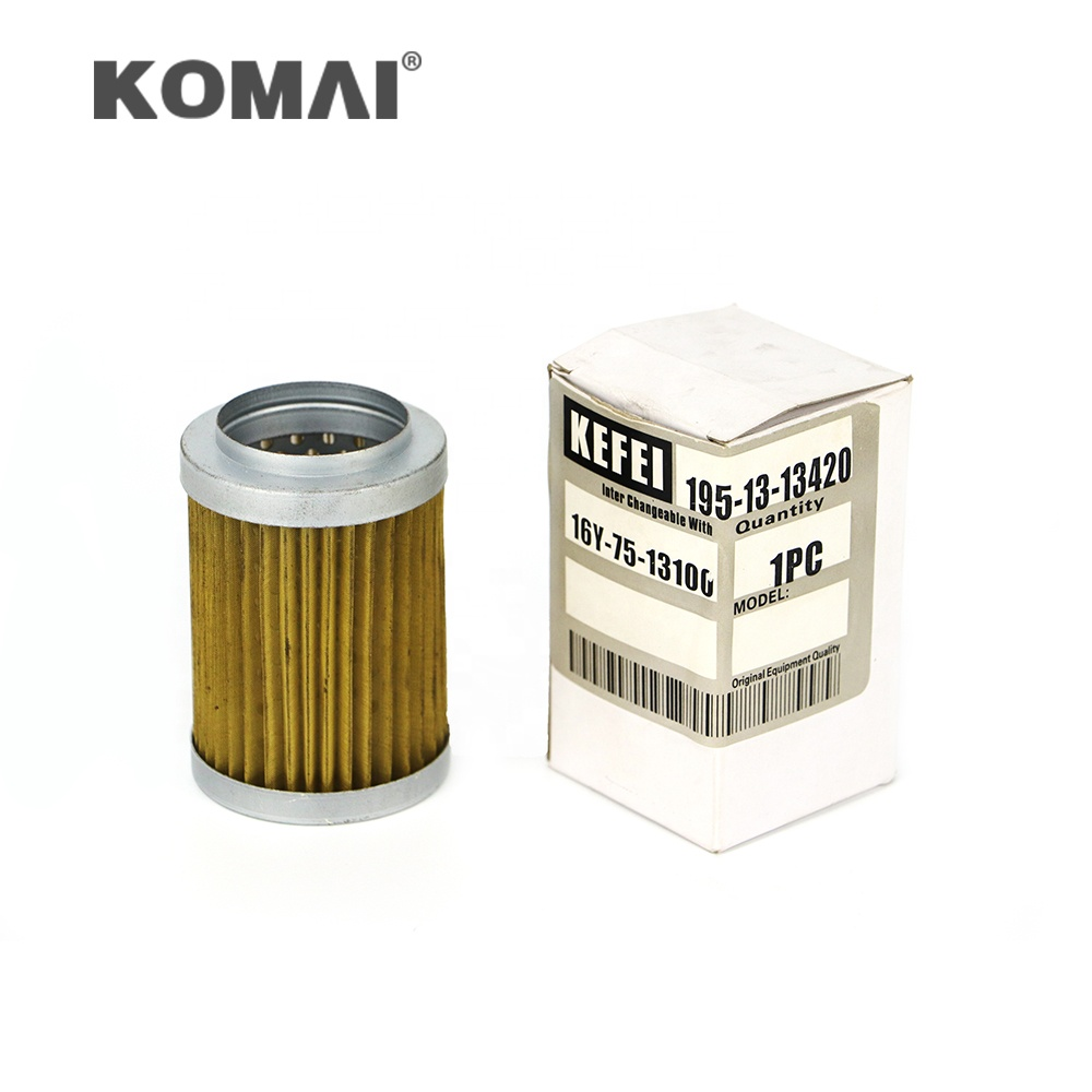 Hydraulic filter parts SH 60177 195-13-13420 1039800044 16Y-75-13100 134-13-13400 use for KOMATSU <strong>D155A</strong>-<strong>2</strong>