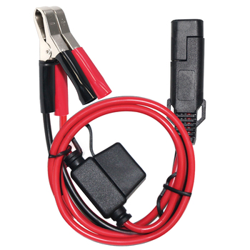 6FT 15A Fused Car Auto Battery Terminal Clip 12V DC Cigarette Lighter Socket Adapter