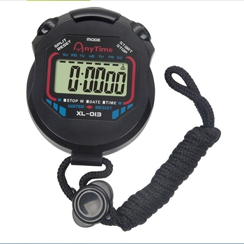 Lower Price Professional Sports Match Stopwatch Digital Handheld LCD Display Timer