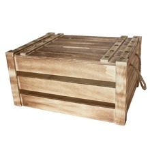 High Quality of pine/paulownia Storage Boxes/<strong>containers</strong>, solid wooden Vegetable fruit beer and books crates With a lid