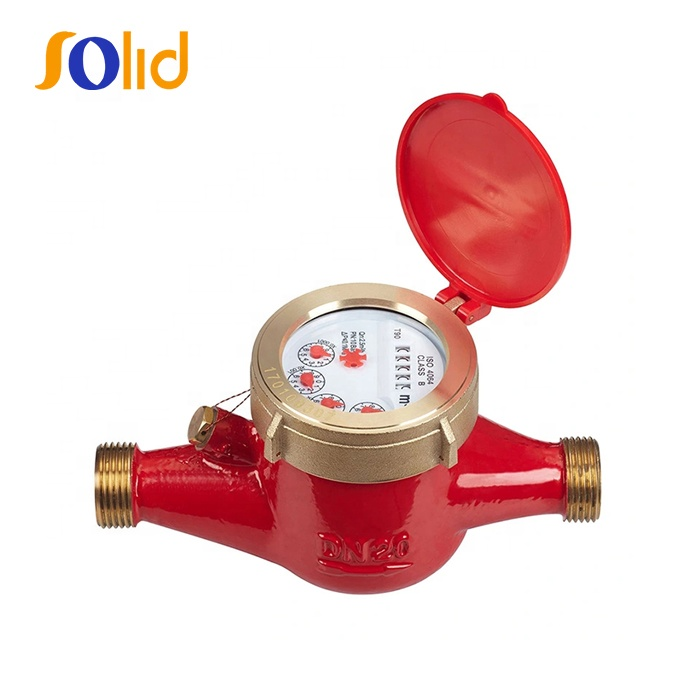 Multi-jet Wet-dial Hot Water Meter for Hot water