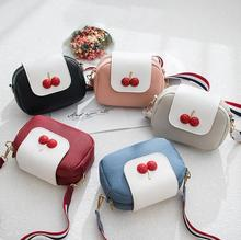 Women <strong>Bag</strong> Leather Handbag Women Shoulder <strong>Bag</strong> Cute cherry <strong>Tote</strong> Shoulder <strong>Bags</strong>