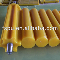 Polyurethane PU rubber/plastic rod bar for construction fields