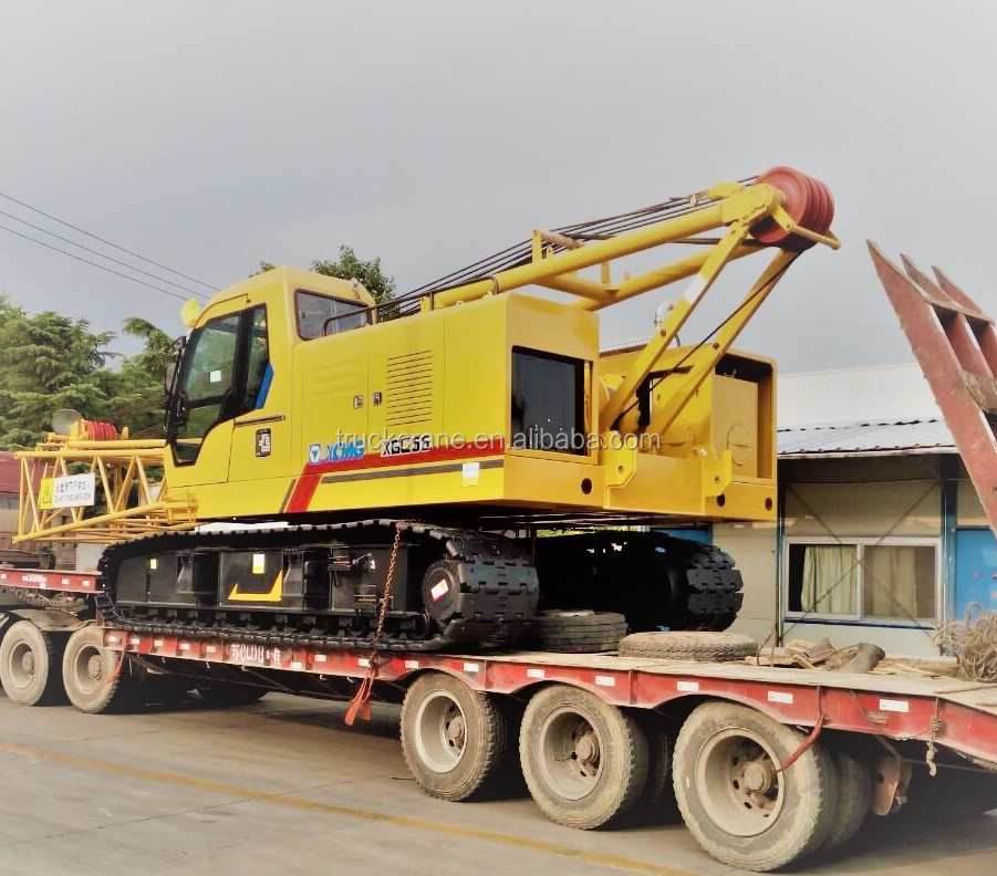 55Ton Crawler Crane With 62M Lifting Height For Sale