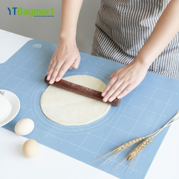 High Quality Kitchen Cooking Baking Measurements Platinum Silicone Dough Rolling Mat