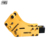 Hydraulic rock breaker hammer equipped for backhoe attachment