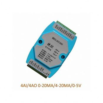 A17-- 4 Road Analog Input Output Aata Acquisition Module RS485 MODBUS 12 bit Industrial grade AD/DA chip 0-20MA/4-20MA/0-5V