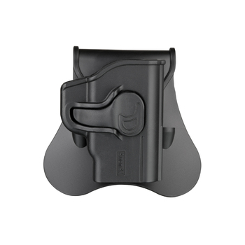 Amomax Cytac Hardshell Tactical Plastic Gun Holsters for Smith & Wesson Bodyguard .380 with Integrated Crimson Trace Laser