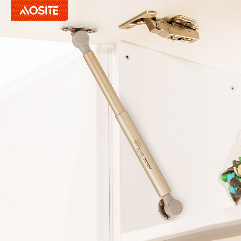 Adjustable Soft up Gas <strong>Spring</strong> for Cabinet Door Hydraulic Lift Folding Bed Mechanism Gas Struts Only Silver