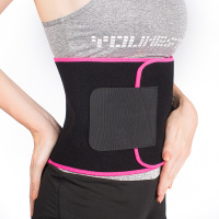 Custom Neoprene Shaper Slimming Fat Burning Waist Support Fitness Waist Sweat Belt For Men Women