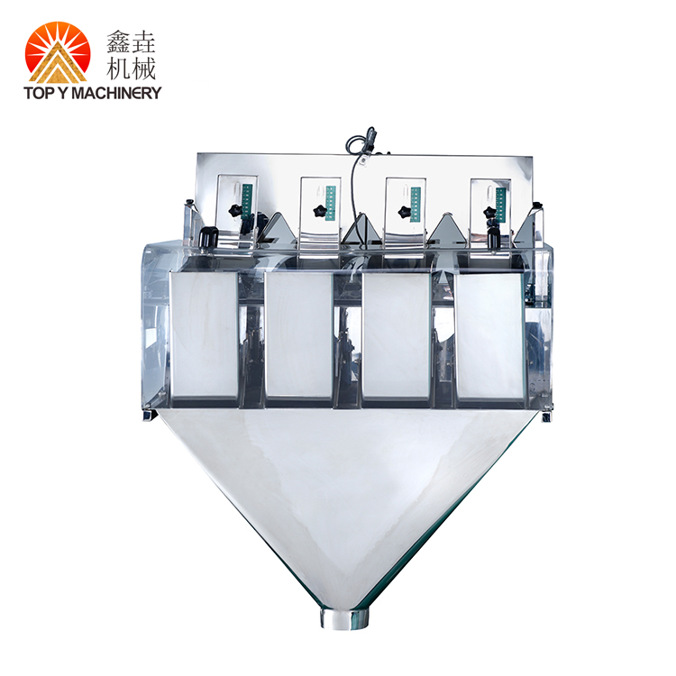 Semi Automatic Rice/Nuts/Grain/Seed/Beans/Granule Weighing Filler Filling Sealing Packing Machine