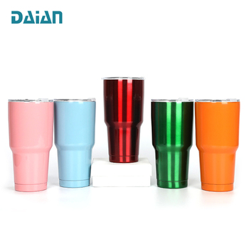 Private Label Thermos Tumbler Sublimation Blanks Coffee Cup Personalized