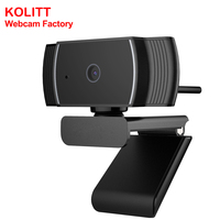 C22 Full HD 1080P USB Webcam Wide Angle Auto Focus PC Web Camera with microphone for Gaming Conference Android TV Box
