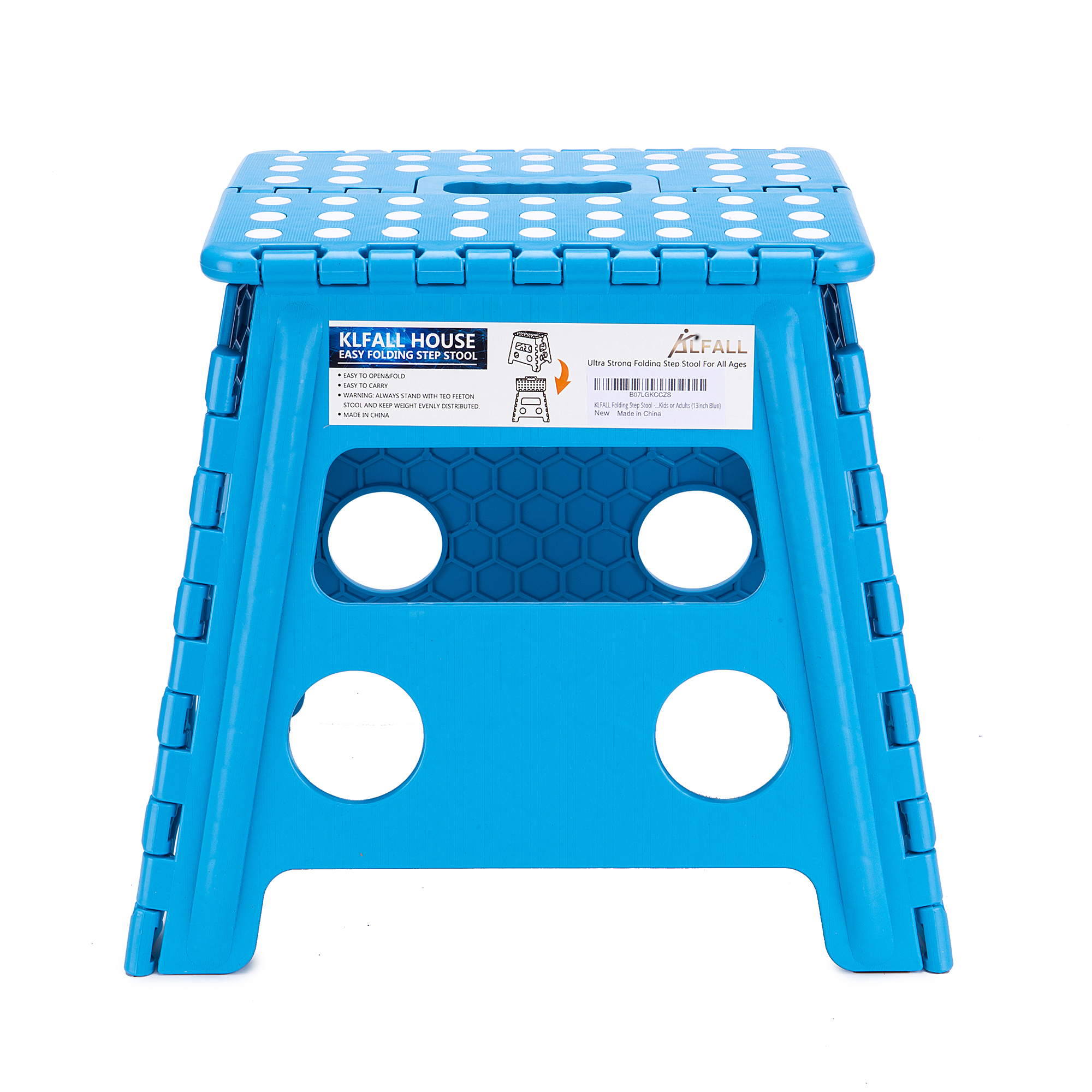 Wholesale Folding Step Stool Lightweight Step Stool is Sturdy Enough to Support Adults and Safe Enough for Kids