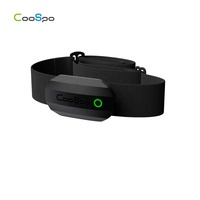 CooSpo ant+ bluetooth wireless pulse heart rate chest strap monitor